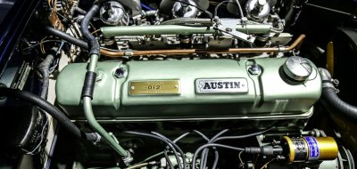 Austin-Healey 3000 MK II engine