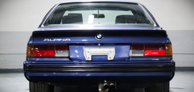 BMW M6 Alpina 1988 rear view