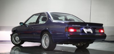 BMW M6 Alpina 1988 rear left view