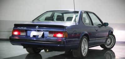 BMW M6 Alpina 1988 rear right view