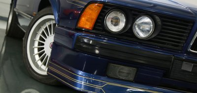 BMW M6 Alpina 1988 front right closeup