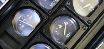 Chevrolet Corvette 1982 gauges