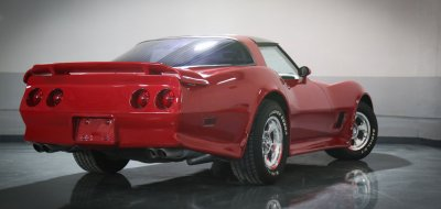 Chevrolet Corvette 1982 rear right view