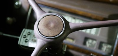 Chevrolet Deluxe 1937 steering wheel