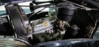 Chevrolet Deluxe 1937 engine