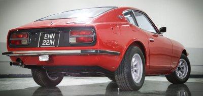 Datsun 240Z rear right view