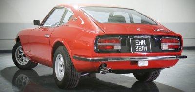 Datsun 240Z rear left view