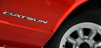 Datsun 240Z rear side closeup view