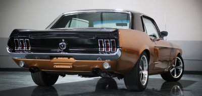 Ford Mustang 1967 rear right view