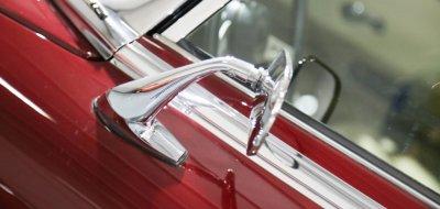 Jaguar E-Type 1972 side closeup view