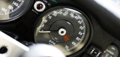 Jaguar E-Type 1972 speedometer