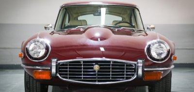 Jaguar E-Type 1972 front view