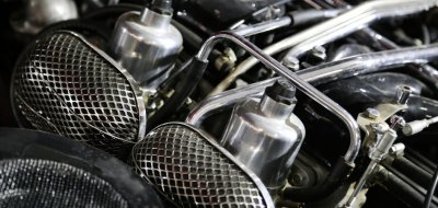 Jaguar E-Type 1972 engine