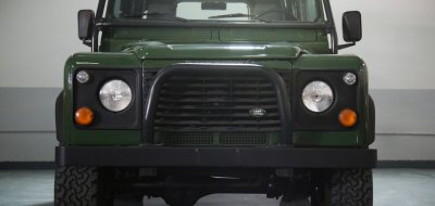 Land Rover Defender 1997 front view