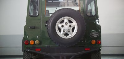 Land Rover Defender 1997 rear view