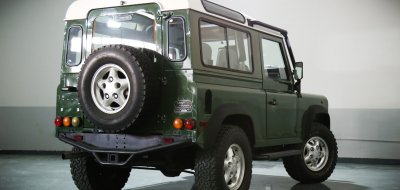 Land Rover Defender 1997 rear right view