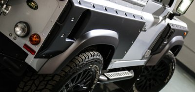 Land Rover Defender 2006 KAHN edition rear/side view