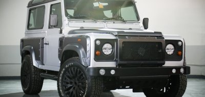 Land Rover Defender 2006 KAHN edition front right view