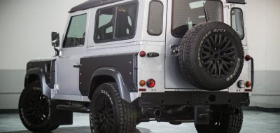 Land Rover Defender 2006 KAHN edition rear left view