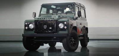 Land Rover Defender Black Series 2016 front view