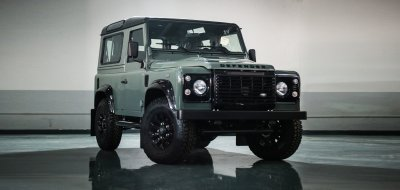 Land Rover Defender Black Series 2016 front/side view
