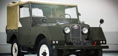 Land Rover Defender Minerva 1952