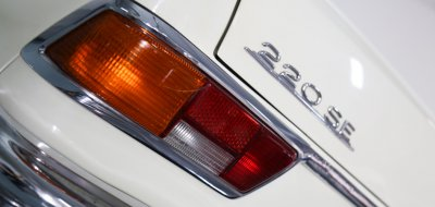 Mercedes Benz 220SE 1961 taillight closeup