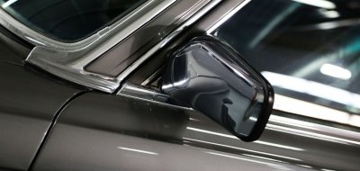 Driver's mirror of the Mercedes Benz 450 SEL 6.9 1976