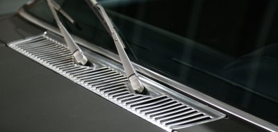 Wipers of the Mercedes Benz 450 SEL 6.9 1976