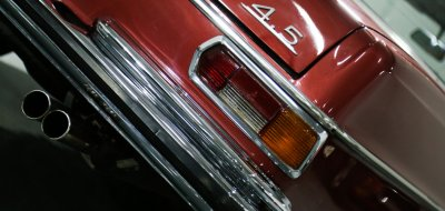 Mercedes Benz 280SEL 1972 taillight