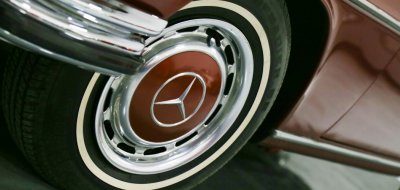 Mercedes Benz 280SEL 1972 wheel