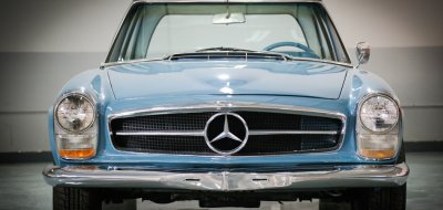 Mercedes Benz SL230 1965 front view