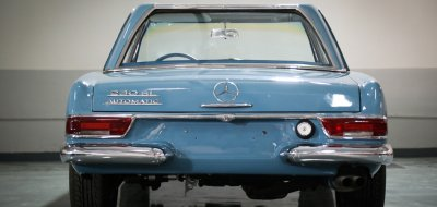 Mercedes Benz SL230 1965 rear view