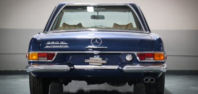 Mercedes Benz SL280 1969 rear view