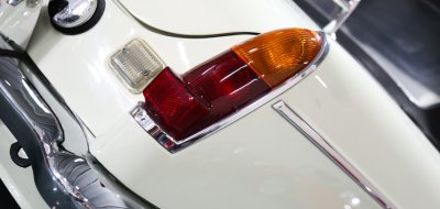MG C 1969 rear closeup view