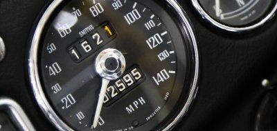 MG C 1969 speedometer
