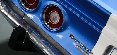 Plymouth Barracuda 1973 taillight