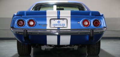 Plymouth Barracuda 1973 rear view