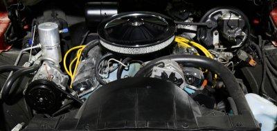 Pontiac Firebird Formula 1974 engine