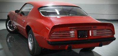 Pontiac Firebird Formula 1974 rear right view