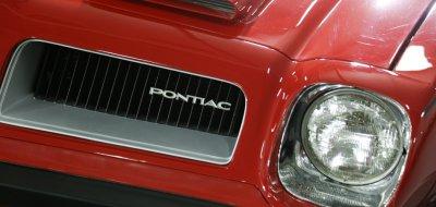 Pontiac Firebird Formula 1974 front closeup view