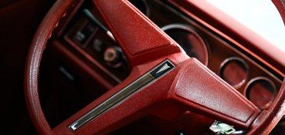 Pontiac Grand Le Mans 1976 steering wheel