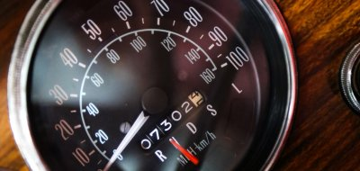 Pontiac Grand Le Mans 1976 speedometer