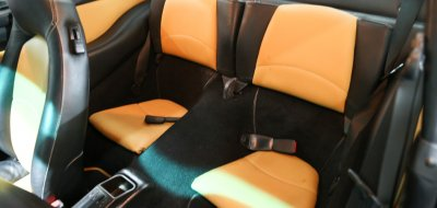 Porsche 993 1998 seats