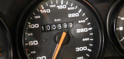 Porsche 993 1998 speedometer