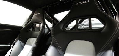 Porsche GT3 RS 2016 seats
