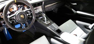 Porsche GT3 RS 2016 interior