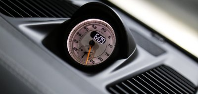 Porsche GT3 RS 2016 clock
