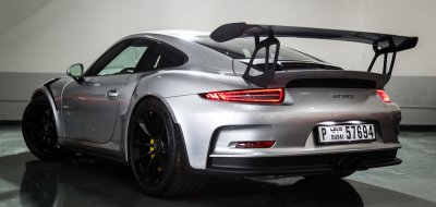 Porsche GT3 RS 2016 rear left view