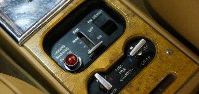 Rolls Royce Corniche 1973 controls